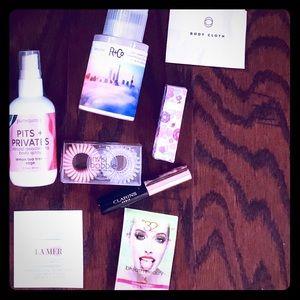 Après Workout Beauty Kit La Mer Clarins Winky Lux